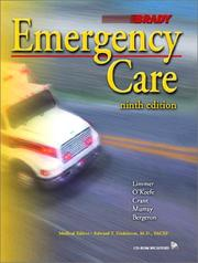 Emergency Care by J. David Bergeron