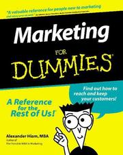 Marketing for dummies PDF