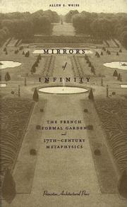Mirrors of infinity by Allen S. Weiss