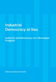 Cover of: Industrial democracy at sea | edited by Robert Schrank.