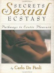Secrets of sexual ecstasy PDF