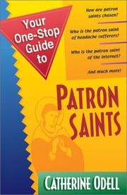 Your One-Stop Guide to Patron Saints (Your One-Stop Guides) PDF