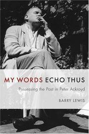 My words echo thus PDF