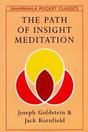 The path of insight meditation PDF