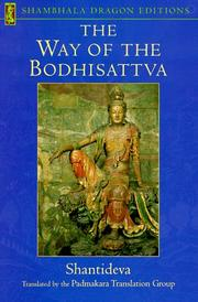 Bodhicaryavatra by Shantideva