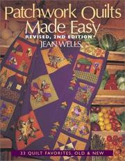 Patchwork quilts made easy by Jean Wells