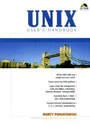 UNIX User's Handbook by Marty Poniatowski