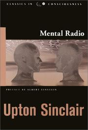 Mental radio by Upton Sinclair