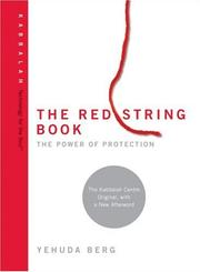 The Red String Book by Yehuda Berg