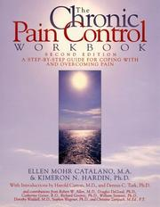 The chronic pain control workbook by Ellen Mohr Catalano