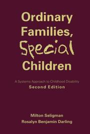 Ordinary families, special children PDF