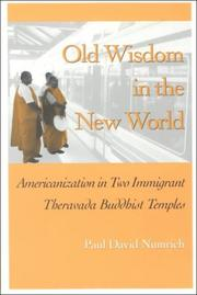 Old wisdom in the New World by Paul David Numrich