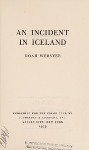 An incident in Iceland