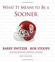 What it means to be a Sooner by Jeff Snook