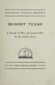 Bloody years