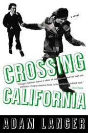 Crossing California PDF