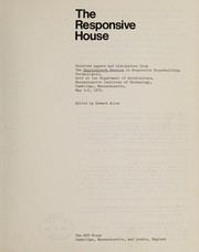 Cover of: The Responsive House | Edward Allen