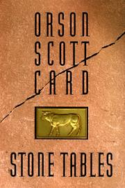 Stone Tables by Orson Scott Card