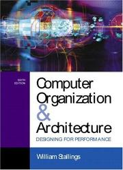 Computer organization and architecture PDF