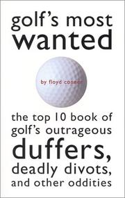 Golf's most wanted PDF