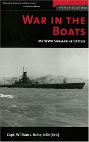 War in the Boats by William J. Ruhe