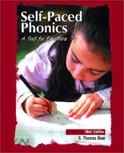 Self-Paced Phonics by G. Thomas Baer