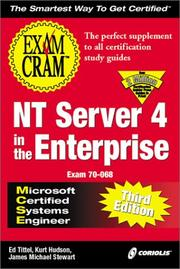 MCSE NT Server 4 in the Enterprise Exam Cram, Third Edition (Exam: 70-068) PDF