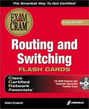 CCNA Routing and Switching Exam Cram Flashcards (Exam: 640-507)