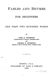 Fables and Rhymes for Beginners