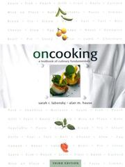 On cooking by Sarah R. Labensky