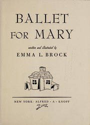 Ballet for Mary