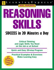 Reasoning skills success in 20 minutes a day PDF