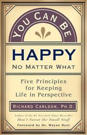 You Can Be Happy No Matter What PDF