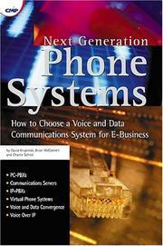 Next generation phone systems PDF