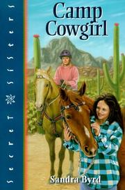Camp Cowgirl by Sandra Byrd