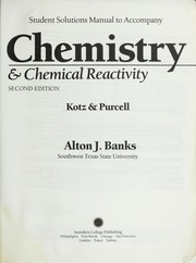 Chemistry & Chemical Reactivity (Student Solutions Manual)