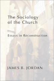The sociology of the church PDF