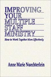 Improving your multiple staff ministry PDF