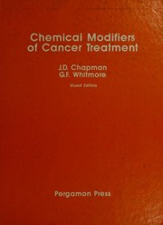 Chemical modifiers of cancer treatment