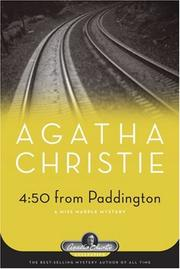 Cover of: 4:50 From Paddington by Agatha Christie