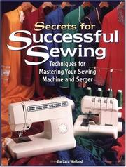 Secrets for Successful Sewing PDF