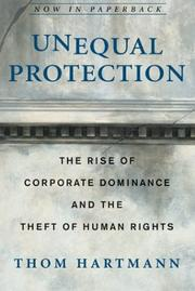 Unequal Protection by Thom Hartmann