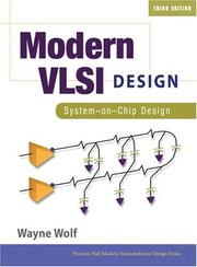 Modern VLSI design by Wayne Hendrix Wolf