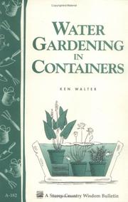 Water gardening in containers PDF