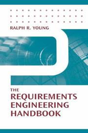 The Requirements Engineering Handbook (Artech House Technology Management and Professional Development Library) PDF