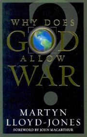 Why does God allow war? PDF