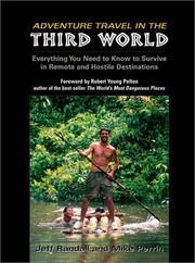 Adventure travel in the Third World PDF