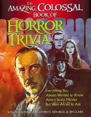 The amazing colossal book of horror trivia PDF