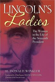 Lincoln's ladies by H. Donald Winkler
