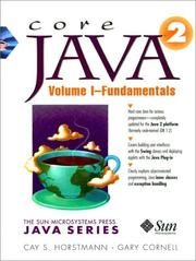Core Java 1.2 by Cay S. Horstmann